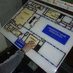Picture of the tactile floor plan ground floor