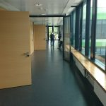 Picture of the corridor to the seminar rooms