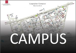 Picture link to on campus orientation